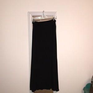 Black maxi skirt!